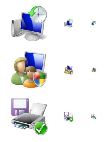 Слишком много элементов в одной иконке
