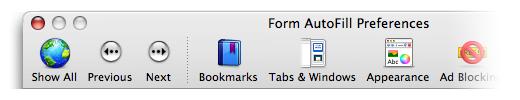 OmniWeb Toolbar
