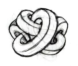 Первый набросок логотипа Автокадабры