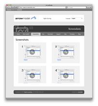 Страница скриншотов