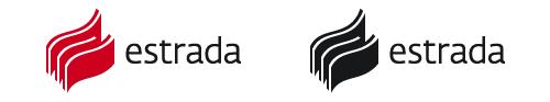 Варианты раскраски логотипа Estrada