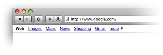 Новая иконка Google в адресной строке браузера